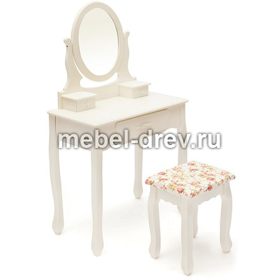 Туалетный столик с пуфом 15-075