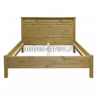 Кровать Рауна М-160-БИ бейц