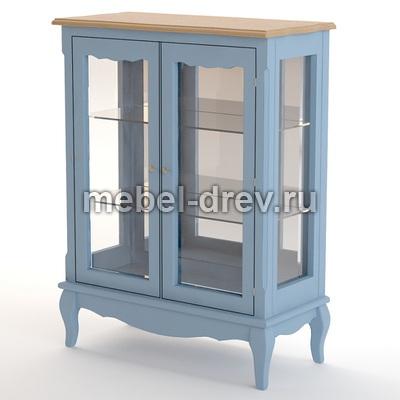 Шкаф-витрина Leontina blue (Леонтина блю) ST9318/B