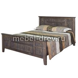 Кровать двуспальная Лоредо 180 WoodMos ЦВ