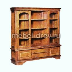 Шкаф книжный Провинция П01Б