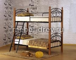 Кровать двухъярусная Анжелика Д2я