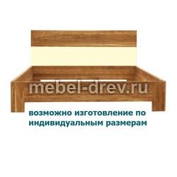 Кровать двуспальная Лоредо 140 WoodMos ЦВ