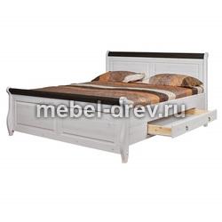 Кровать Мальта М 160х200 с ящиками