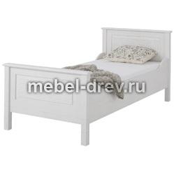 Кровать Рауна-90 белый воск