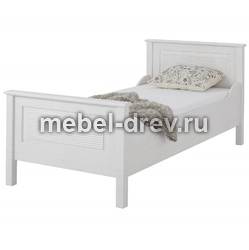 Кровать Рауна J белый воск