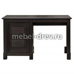 Стол письменный Рауна-10 с 1 тумбой колониал