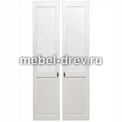 Комплект дверей к стеллажу Рауна-20 белый воск