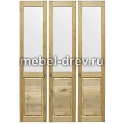 Комплект дверей к стеллажу Рауна-30 бейц