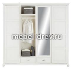 Шкаф четырехдверный Елена-222