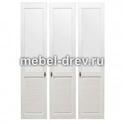 Комплект дверей к стеллажу Рауна-30 белый воск