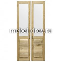 Комплект дверей к стеллажу Рауна-20 бейц