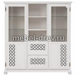 Шкаф для посуды Луна-211 белый воск УКВ