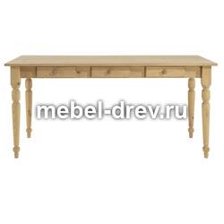 Стол обеденный Мерида-110 белый воск