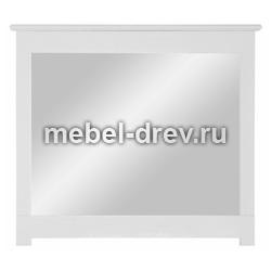 Зеркало Рауна-100 белый воск