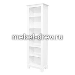 Шкаф для книг Рауна-00 белый воск