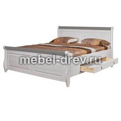 Кровать Мальта М 180х200 с ящиками