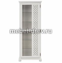 Шкаф для посуды Луна-10 белый воск УКВ