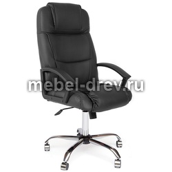 Кресло компьютерное Bergamo (Бергамо) хром