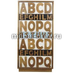 Комод высокий Alphabeto (Альфабето)AN-09/1ETG/4