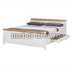 Кровать Мальта 160х200 с ящиками