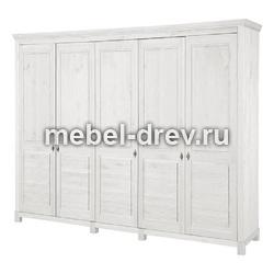 Шкаф для одежды Рауна-50 белый воск