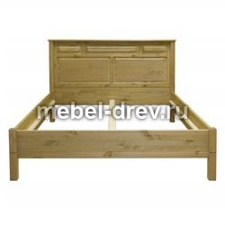 Кровать Рауна М-140 БИ бейц