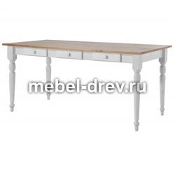 Стол обеденный Мерида-140 со вставкой бейц