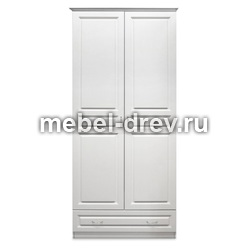 Шкаф 2-х дверный Сиэтл 2PV WoodMos
