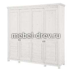 Шкаф для одежды Рауна-40 белый воск