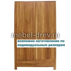 Шкаф 2-х дверный Сиэтл 2VV WoodMos