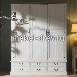 Шкаф трехстворчатый Belveder (Бельведер) ST-9327KR-3