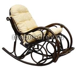 Кресло-качалка с подножкой Matte 05/11