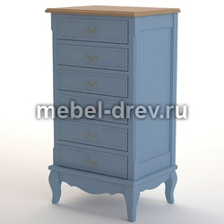 Комод высокий Leontina blue (Леонтина блю) ST9314/B
