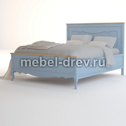 Кровать двуспальная Leontina blue (Леонтина блю) ST9341/B