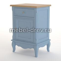 Тумба прикроватная Leontina blue (Леонтина блю) ST9323/B