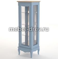 Шкаф-витрина Leontina blue (Леонтина блю) ST9319/B