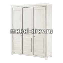 Шкаф для одежды Рауна-30 белый воск