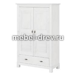 Шкаф Рауна-21 белый воск