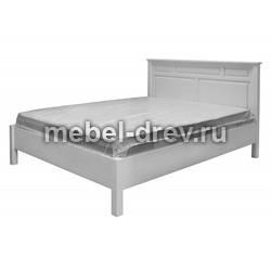 Кровать Рауна-160 белый воск