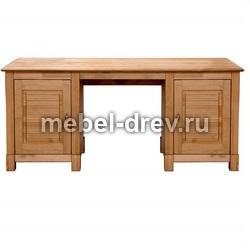 Стол письменный Рауна-20 с 2 тумбами бейц