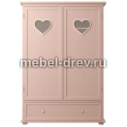 Шкаф 2-створчатый Adelina (Аделина) DM-1027ETG-R