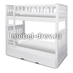 Кровать двуспальная Лоредо 140 WoodMos