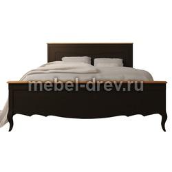 Кровать двуспальная Leontina (Леонтина) ST-9341 BLK