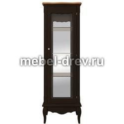 Шкаф-витрина Leontina (Леонтина) ST-9319 BLK