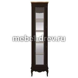 Шкаф-витрина Leontina (Леонтина) ST-9319R BLK
