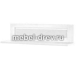 Полка настенная Рауна-110 белый воск