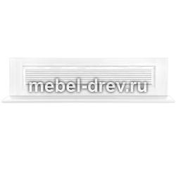 Настенная полка Рауна-165 белый воск