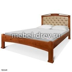 Кровать Сиэтл 120х200 полутороспальная WoodMos