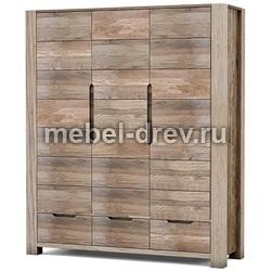 Шкаф трехдверный Рива